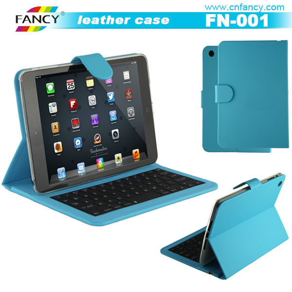 individual design & top-notch quality & low price tablet leather keyboard cases for iPad
