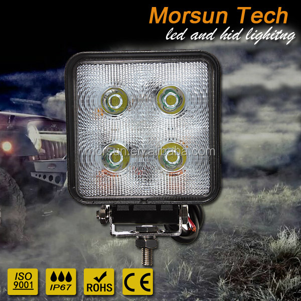 for Forklifts 6000k 9~32v spot flood 40w led work lamp 4LED