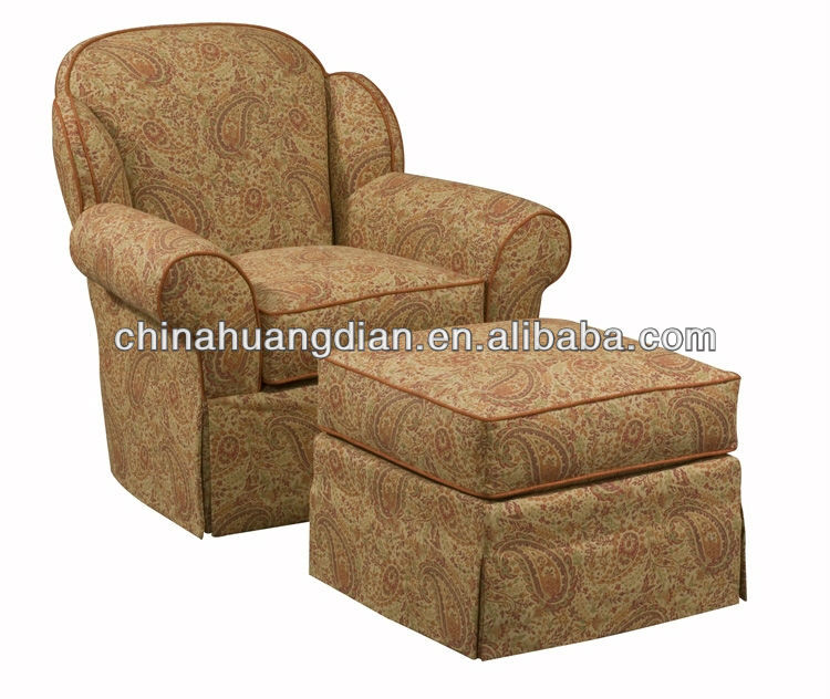 HDL1532 american style lounge chair and ottoman