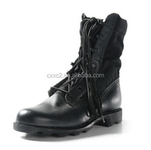 Panama Military Combat Boots with rubber sole
