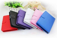 13.3inch tablet pc leather keyboard case, keyboard leather case for 13.3inch tablet pc, cute leather case for tablet pc
