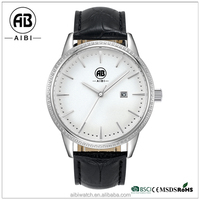 AIBI Diamonds Bezel Japan Movement China Top Brand Whatch Mens Watch