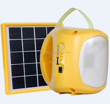 hot sale led rechargeable solar lamp for emergency