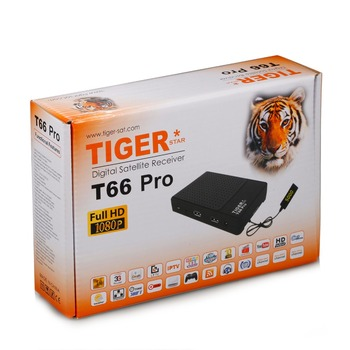 Most Popular Tiger Mini Full HD TV Digital Satellite Receiver Model T66 Pro