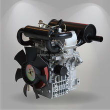 17HP two cylinders water cooled diesel engine 2V80