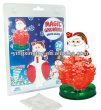 Novelty Toys big Magic Santa Claus,growing Santa Claus toy