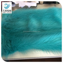 Faux fox fur plush garment fabric for making fur coat