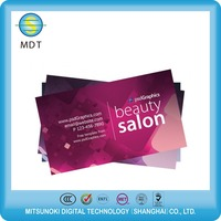 4C printing plastic business card