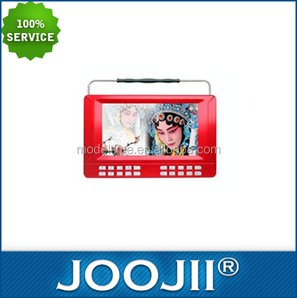 Most Popular High Definition Portable TFT LCD TV With Screen AVI DVD/VCD Player USB/SD Port TV Tuner
