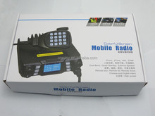 Quad band KT-8900D mini color screen quad-standby with external MIC for taxi Transceiver Car Truck Ham Radio