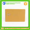 Hot selling PVC ISO7810 blank chip card sle5542 magnetic stripe