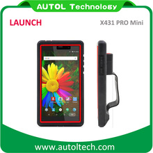 Original Launch auto scanner X431 Pro MiNi Online Update from X431 V OBD2 emissions Analyzer for Full System 1 year free update