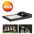5.5V 5W solar panel 18650 Li ion Battery solar motion sensor outdoor wall lamps