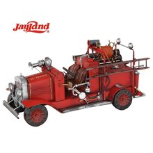 Antique Style Metal Model Fire engine Model