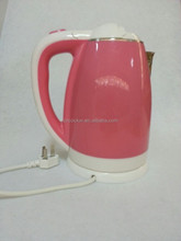 1.8L Hot Sale Red Plastic Kettle Electric