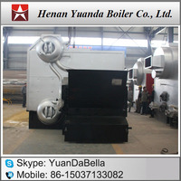 Sawdust steam boiler, Solid fuel steam boiler for rice mill