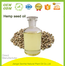 Chinese factory supplier direct wholesale organic hemp seed oil with best price for skin care