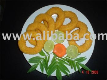 Giant Squid Breaded Rings