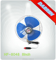 HOT SALE! 8 inch 12v 24v Electric Oscillating autodc Car Fan in Yuyao