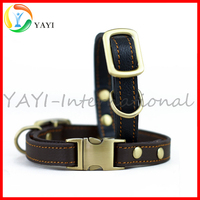 High Quality Adjustable Real Leather Dog Collar