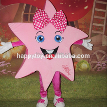 HI CE hot selling!! cartoon character star mascot costume, professional cartoon character star costumes