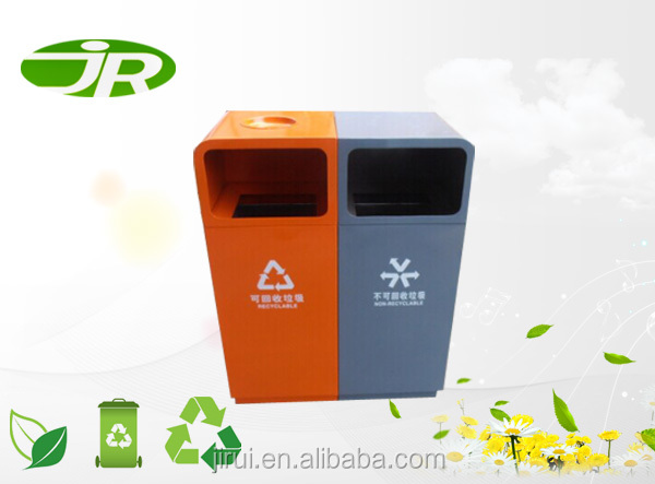 durable fireproof dustbin for out door
