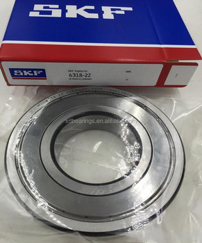 SKF bearings 6318 deep groove ball bearing 6318-2Z for motorcycle