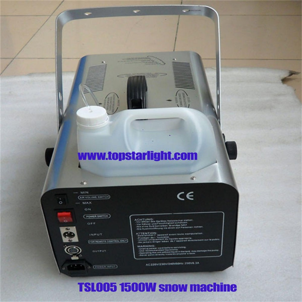 China most competitive price stage effect machine 1500W snow machine for sale