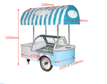 C6-22 popsicle ice cream cart