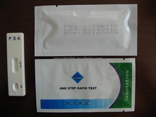 one step rapid diagnostic test PSA rapid test card