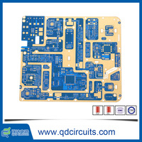 Blind via 3-4 Via Type RoSH Compliance electronic circuit test board