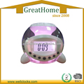 Ball Shape Clolorful Digital Desk Clock With Backlight