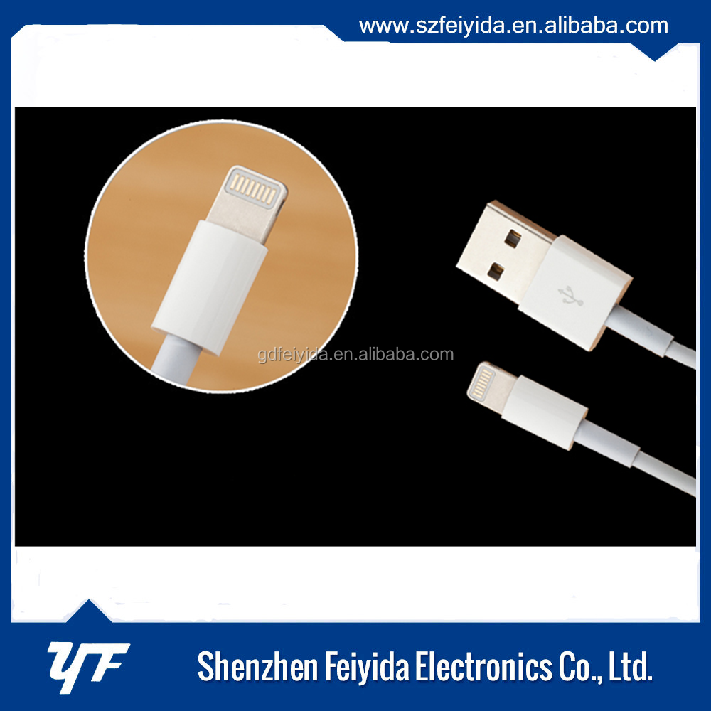 100% MFI authorized factory top pakistan cable price cable for cable charger iphone