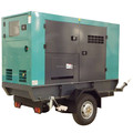 new type protable diesel generator set three phase low speed with global service