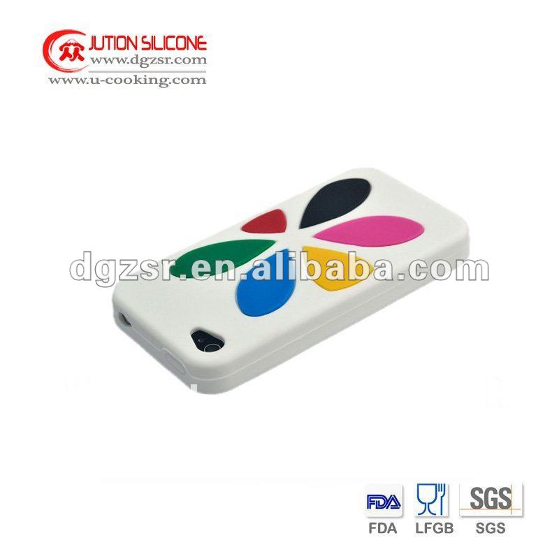 Silicone Case for phone with Imprint Logo