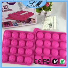 Pops Mold Tray silicone Sticks Cake Pops Mold 16