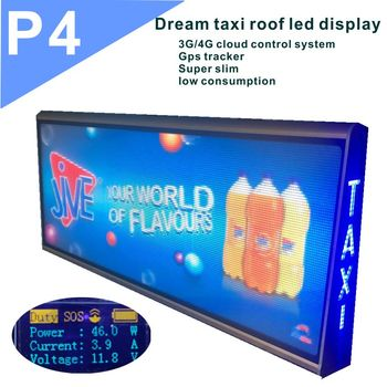 Outdoor Taxi Roof LED Displays P5