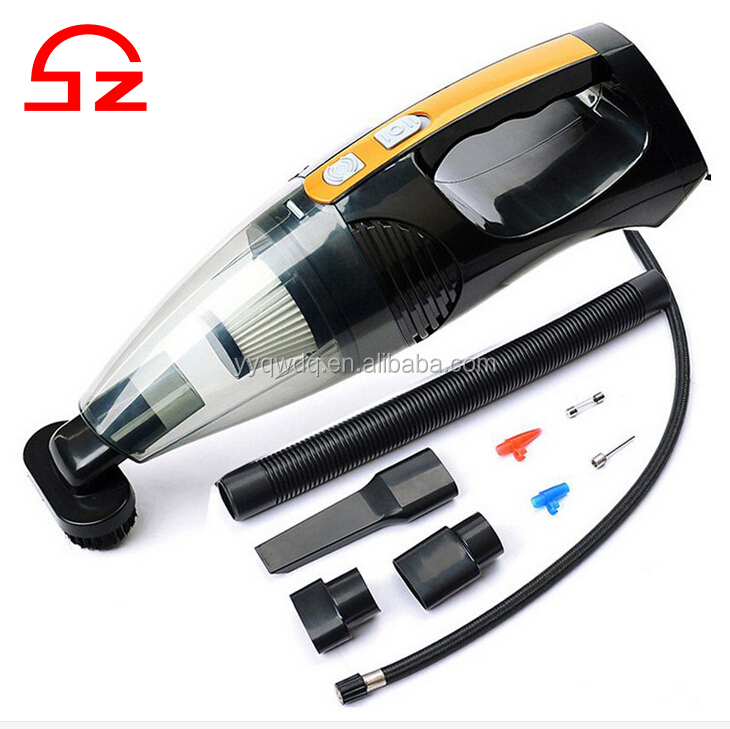 New design 4 in 1 wet and dry 12v vacuum cleaners for car