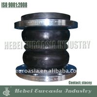 Fire Equipment Double Bellow Flange Rubber Expansion Joint