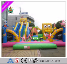 Inflatable bouncy castle slide inflatable fun city
