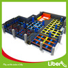 China Liben Professional Large Indoor Trampoline Park with Big Foam Pit