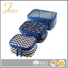 Fashion Quality Cheap Wholesale cosmetic packaging bag case large makeup bag