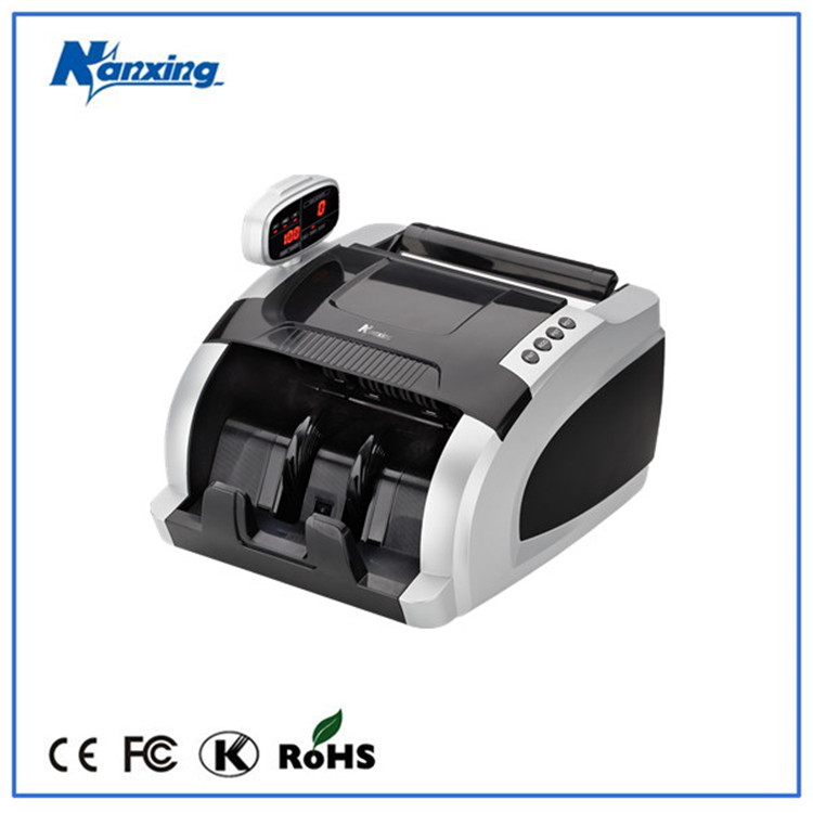 High accurancey money printing machine with UV,MG,IR detection
