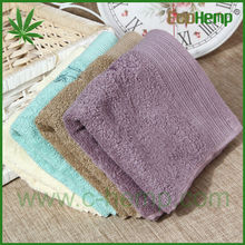 colorful high quality good absorbent quick dry hemp small towel