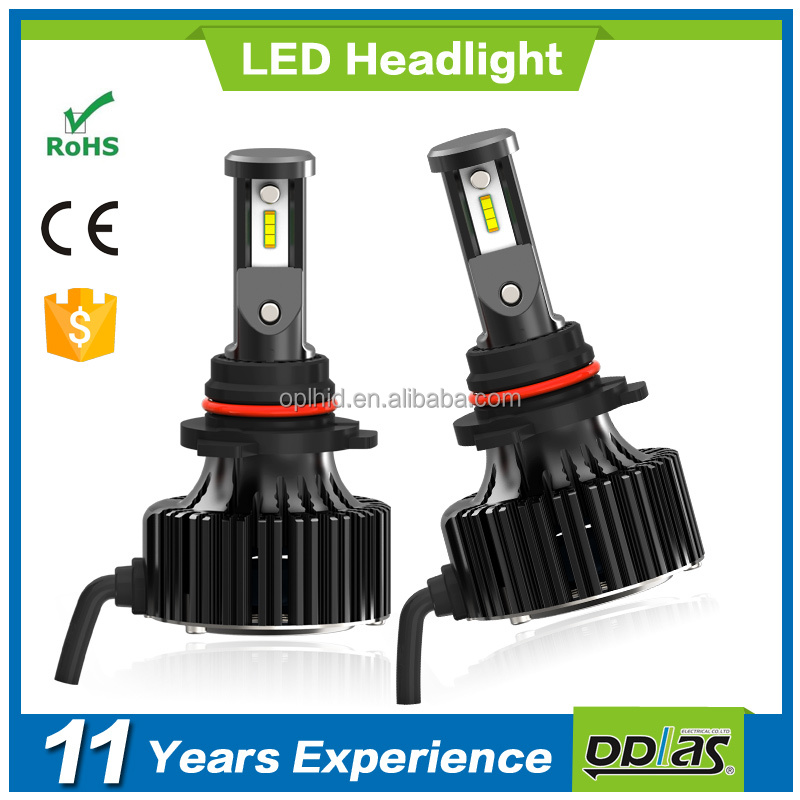 Factory supply high power wholesale F5 series 9006 car LED auto lamp headlight