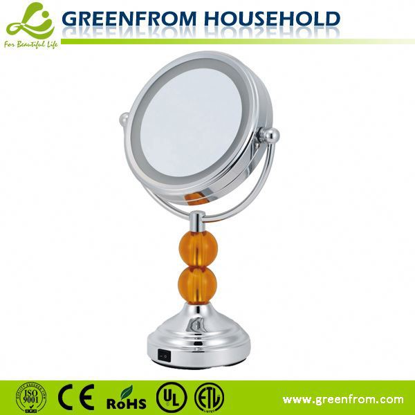 New Ideas 2-Face Bathroom Furniture Oval Makeup Mirror