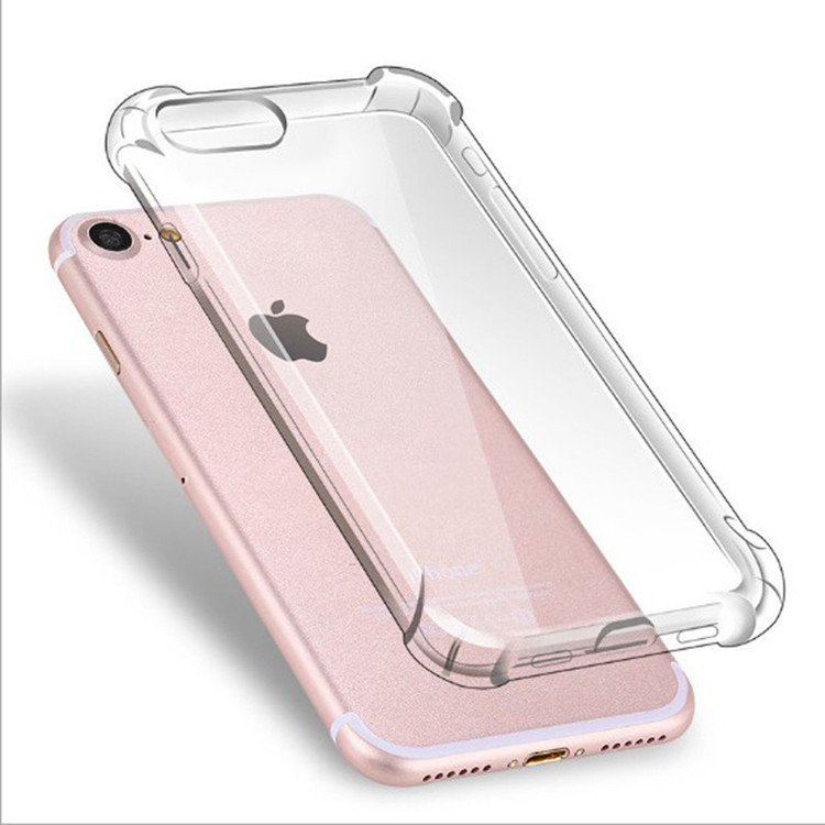 Free Samples TPU Bumper And Clear PC Back Case For Iphone 6/6S