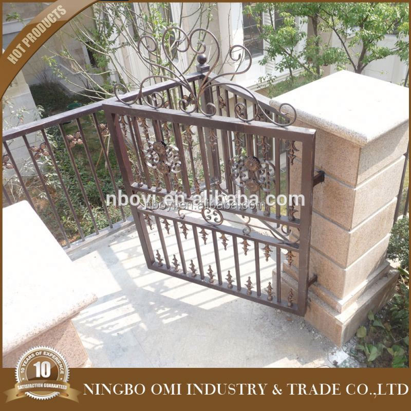 9 years no complaint factory directly wrought iron bamboo style fence