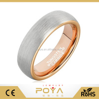 POYA Jewelry Fashionable Tungsten Carbide 6mm
