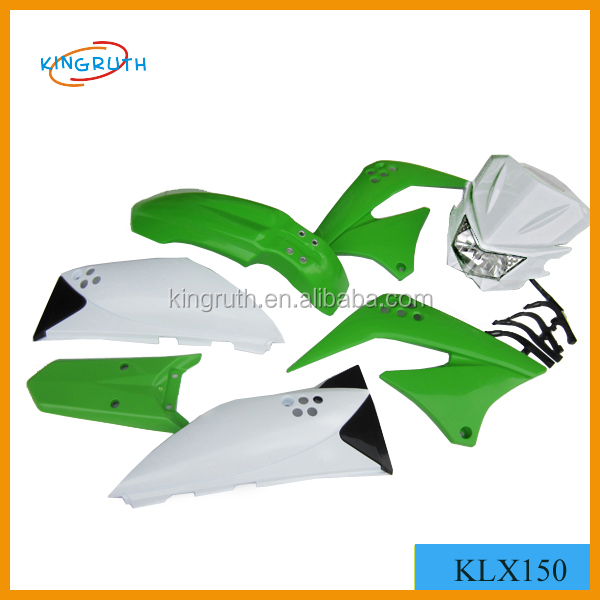 KLX150 with light chinese motorcycle fairings